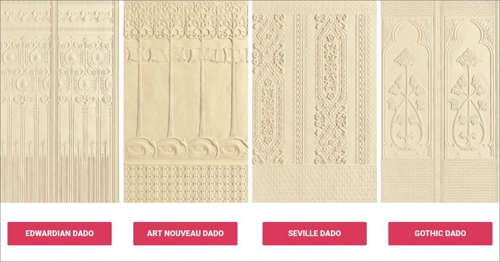 Lincrusta Dado Panels For That Quintessentially Classic Look