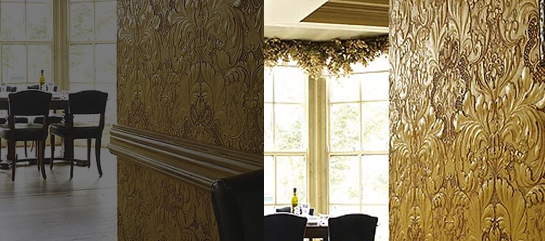 Lincrusta Wallpaper Installers In Essex Wallpaper Repair